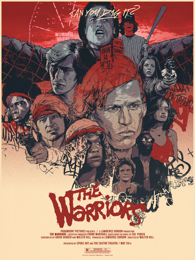 The WarriorsThe Warriors Movie Poster